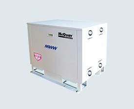 小型水-水式水源热泵机组MWW